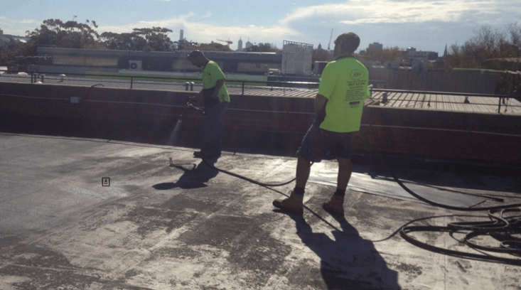 Concrete Roof Waterproofing Melbourne