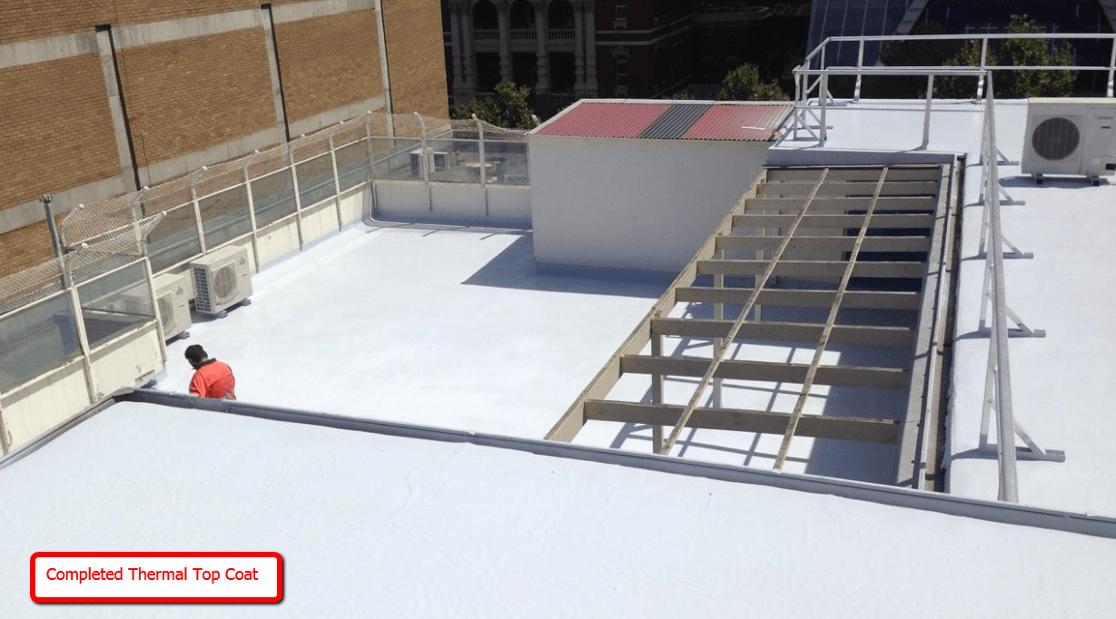 Rooftop Remedial Waterproofing