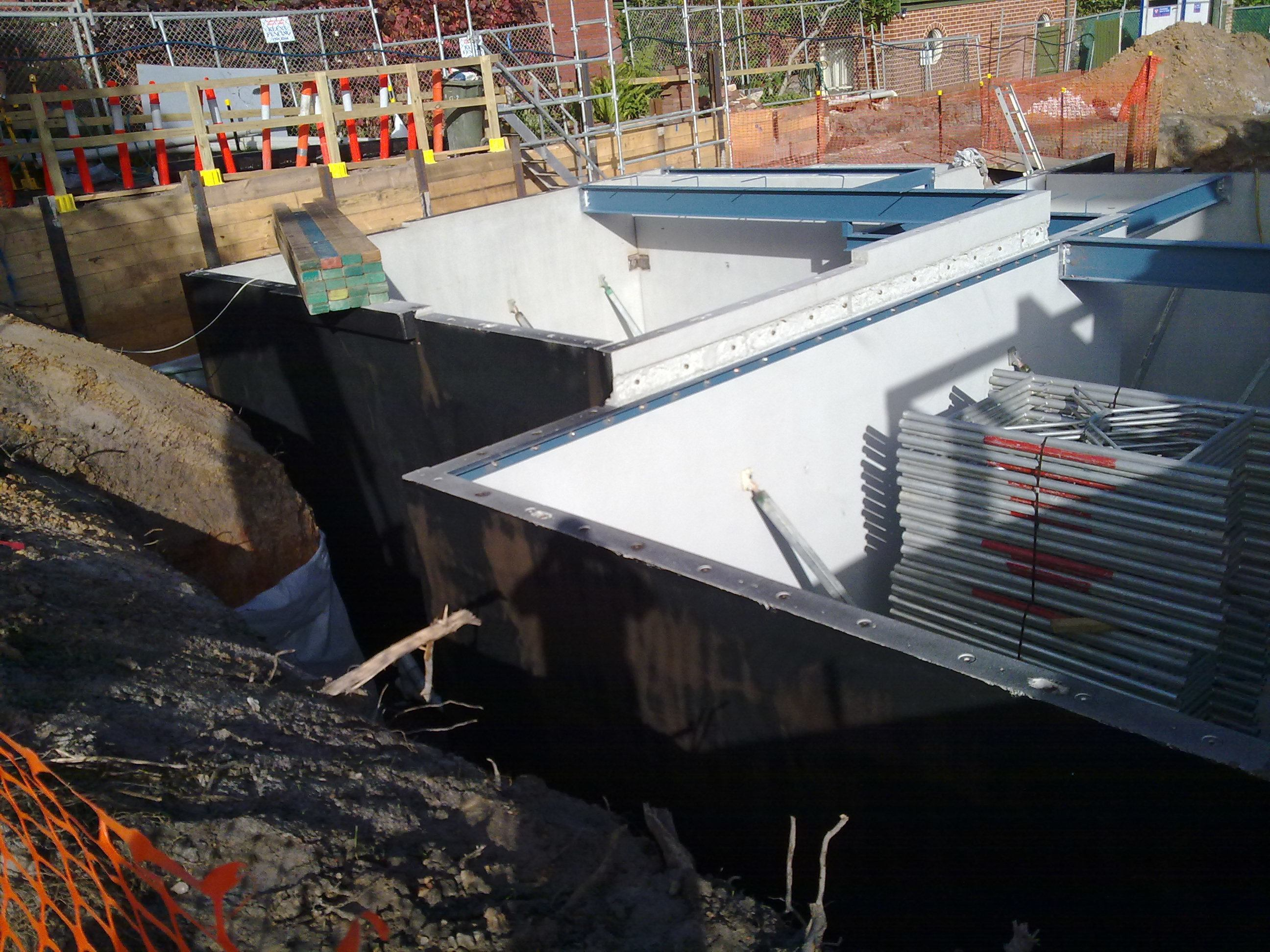 Below Ground Waterproofing