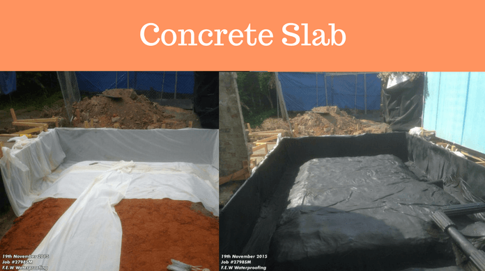 Waterproof Under Concrete Slab Melbourne