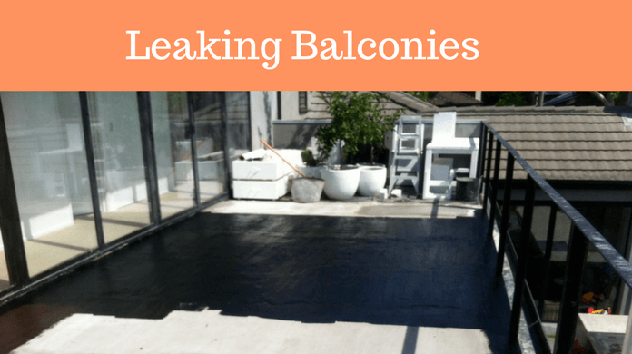 Repair Leaking Balcony Melbourne