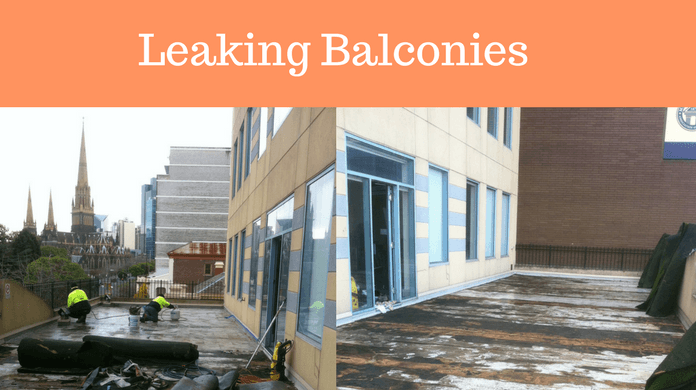 Leaking Balcony & Roof Restoration-Melbourne