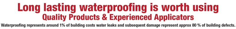 Melbourne Waterproofing Leaks